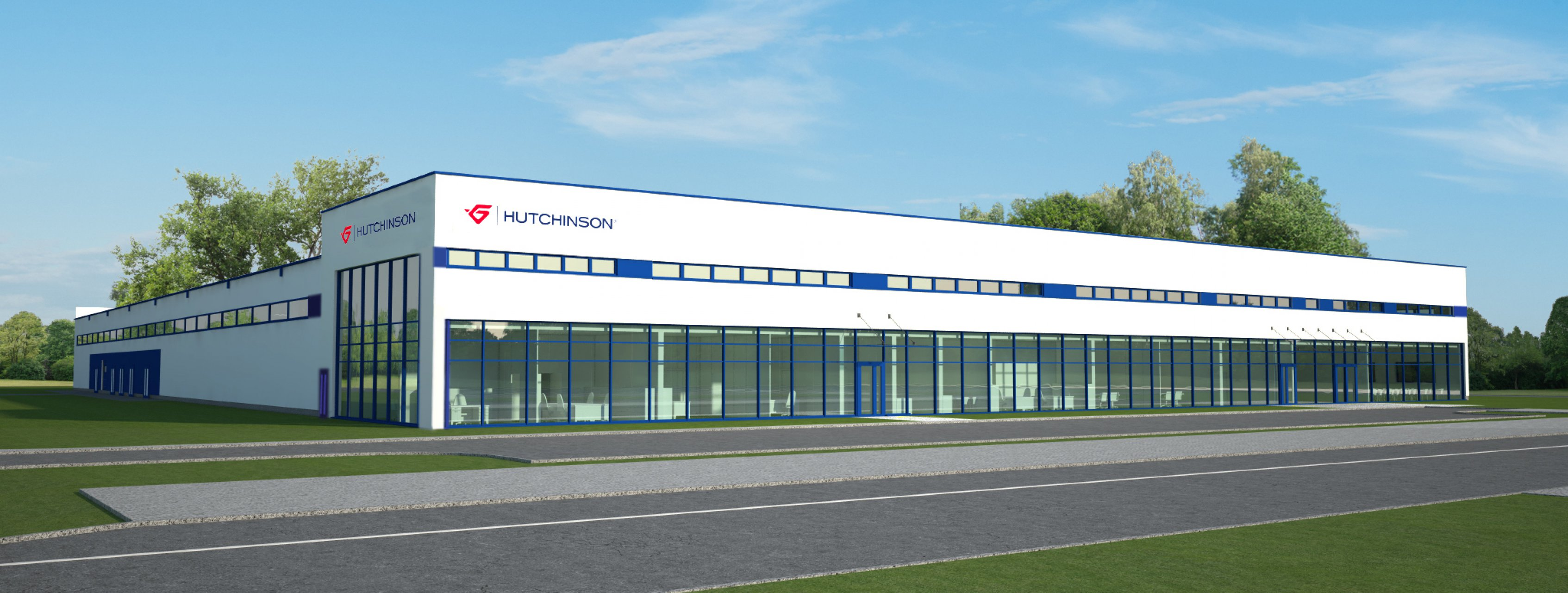 Obiekt firmy Hutchinson w Serbii