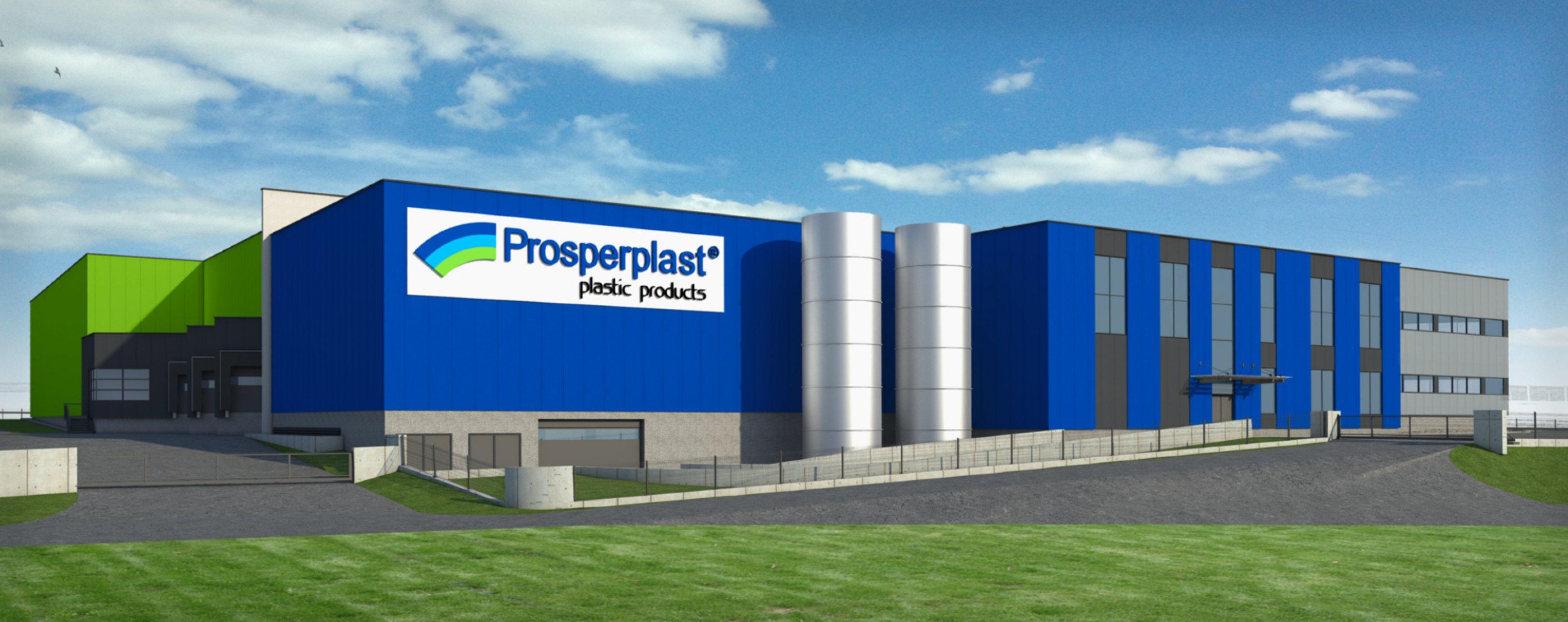 Obiekt firmy Prosperplast 7 w Rybarzowicach