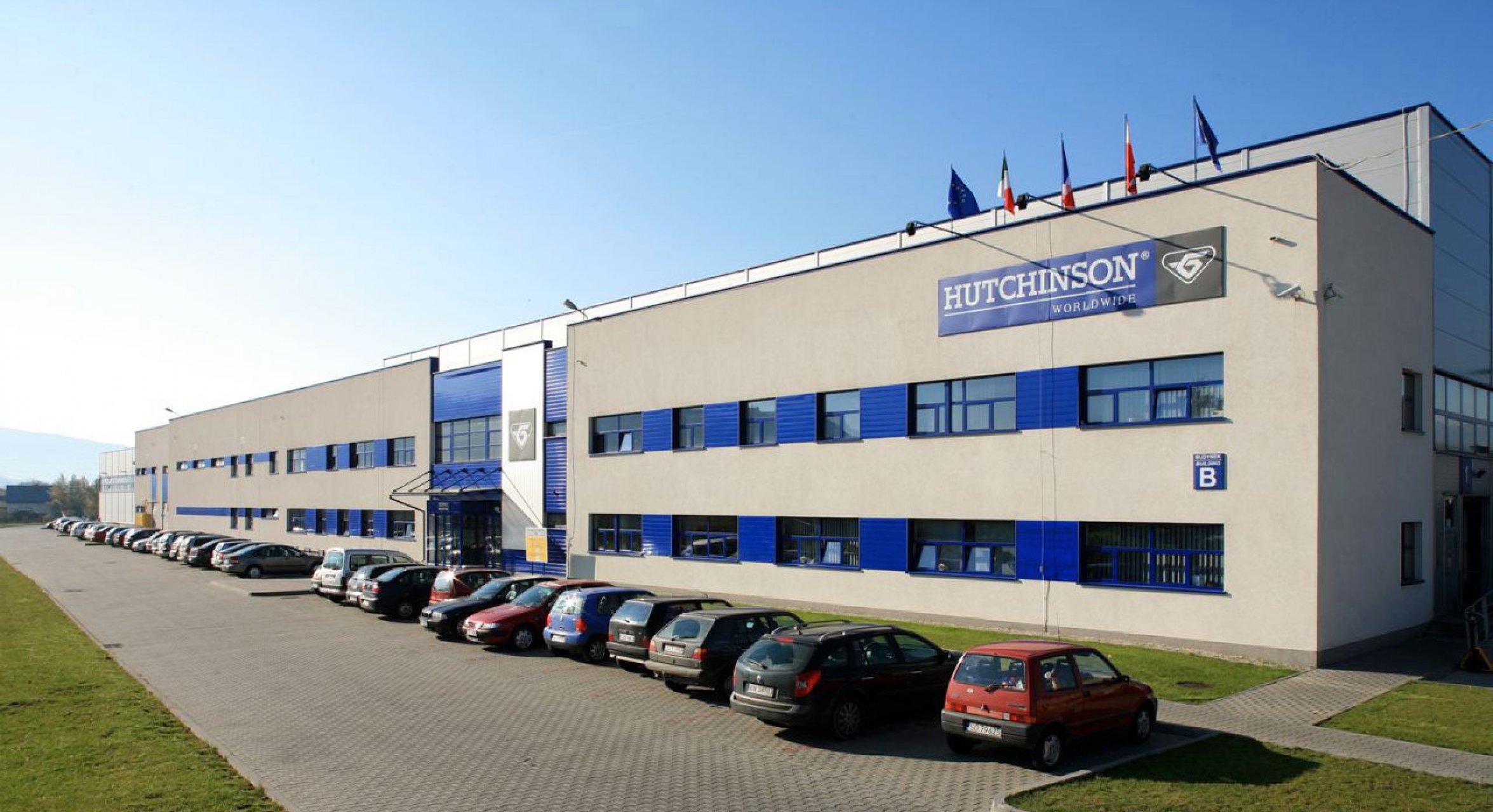 Obiekt firmy Hutchinson w Żywcu