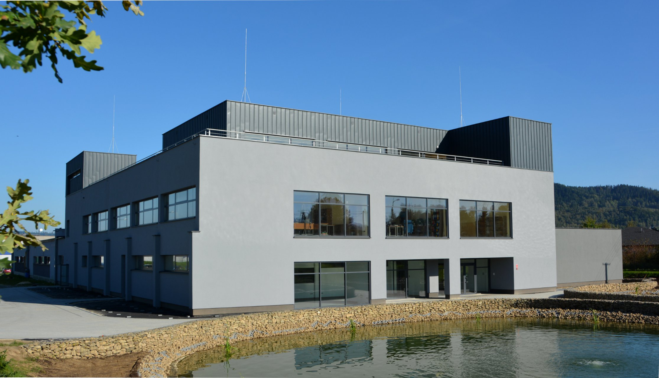 Obiekt firmy MCD Elektronics w Żywcu