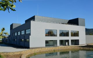 """MCD Elektronics"" building in Żywiec"