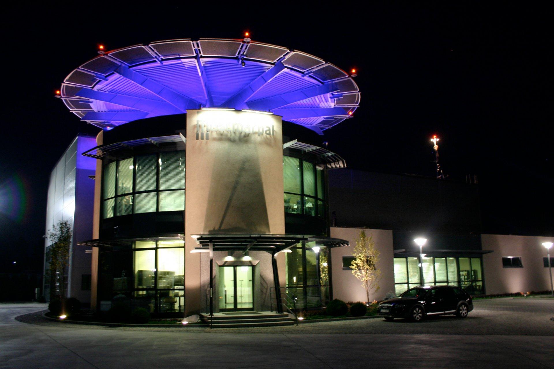 Obiekt firmy Mostmarpal w Pietrzykowicach