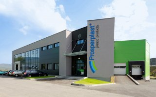 "Building complex of the ""Prosperplast"" 6 Company  in Rybarzowice"