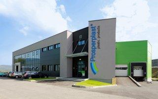 """Obiekt firmy """"Prosperplast"""" 6 w Rybarzowicach"""