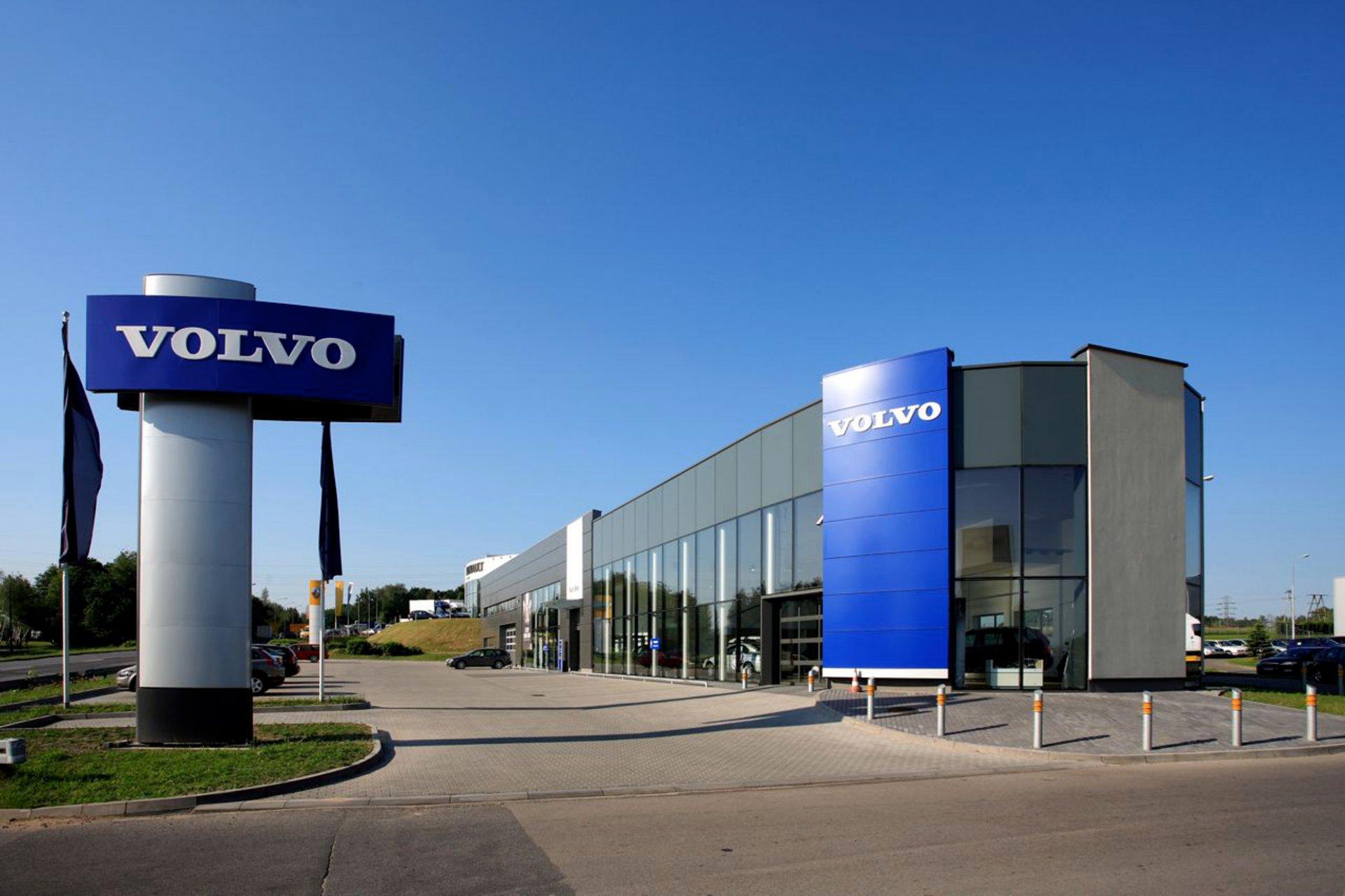 Salon samochodowy Volvo w Bielsku-Białej