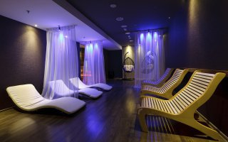 """Spa and sauna area in the """"3 Stawy"""" Shopping Centre in Katowice"""