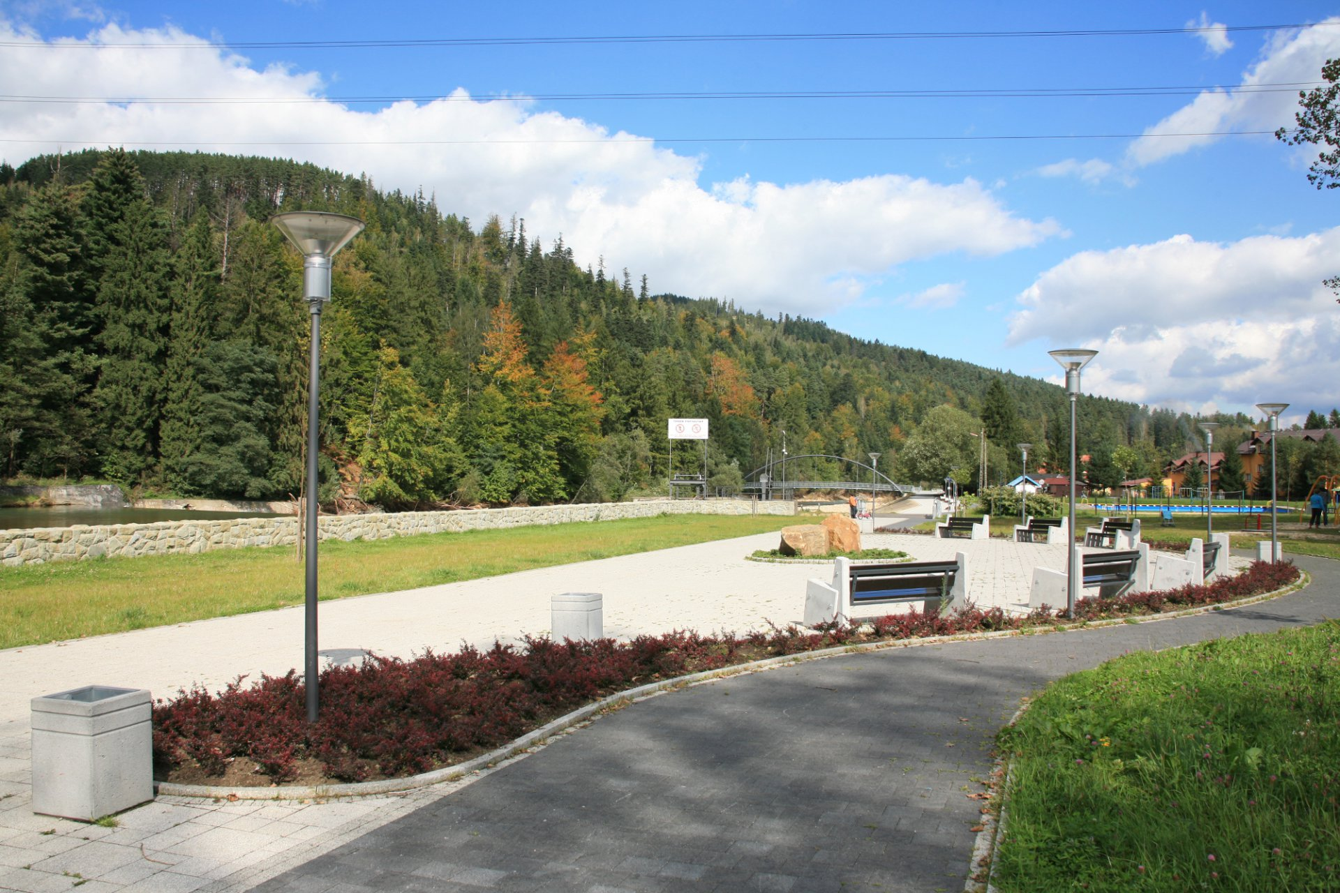 Tereny rekreacyjne w Węgierskiej Górce