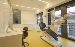 The interiors of dental office Primadent in Bielsko-Biala