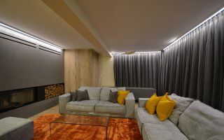 Interior design of residential building 1