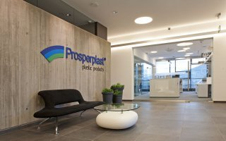 "Interior in property of company ""Prosperplast"" in Rybarzowice"