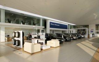 """""""Volkswagen"""" showroom interior design in Świętochłowice"""