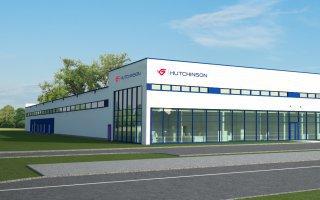 """Obiekt firmy """"Hutchinson"""" w Serbii"""
