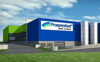 """Obiekt firmy """"Prosperplast"""" 7 w Rybarzowicach"""